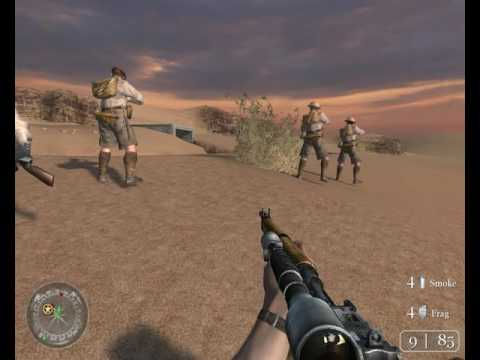 Call of Duty 2 Walkthrough : Operation Supercharge