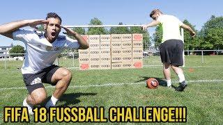 Extreme fifa 18 fussball challenge vs gareth walker + bestrafung!