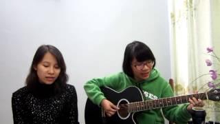 Thuyền giấy - Guitar cover - 2 chị em Thanh Nhàn , Bích Ngọc