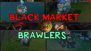 YENİ OYUN MODU: BLACK MARKET BRAWLERS | Türkçe | League of Legends | PBE