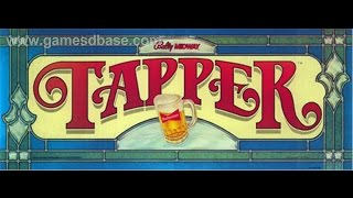 184,250 Budweiser Beer Tapper MAME Arcade High score game play