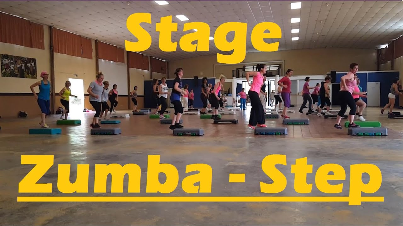 Stage De Zumba Step A Montignac Youtube