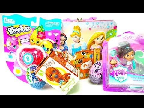 Принцессы открывают сюрпирзы и ищут игрушки