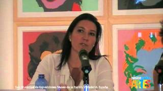 "02.Dolores Duran, comisaria, comenta ""This is Pop Art!"", 1ª Parte"