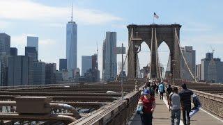 Sightseeing in New York City / One World Trade Center / Brooklyn bridge / 911 memorial museum
