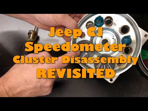 Revisiting The Jeep CJ Speedo Disassembly