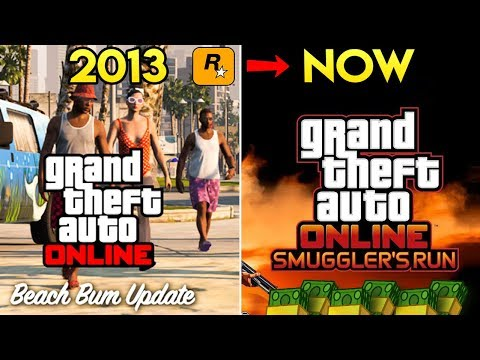 How Rockstar Has Changed GTA Online Since the 1st DLC 4 Years Ago (Paid Expansions & Free Content)