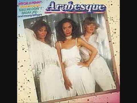 Arabesque  A New Sensation