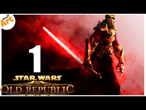 Прохождение Star Wars The Old Republic - Sith Warrior - 1