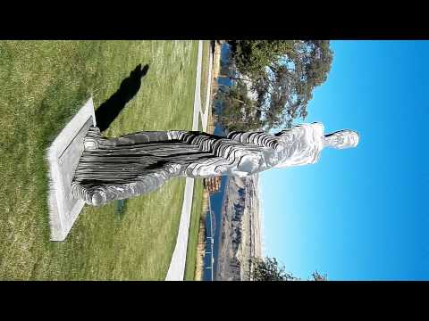Mary Hill Museum - Vanishing Man sculpture