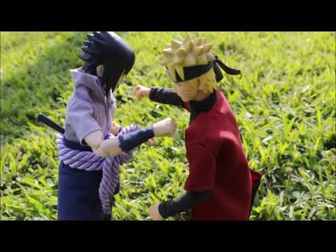 Naruto Shippuden: Naruto vs Sasuke Stop Motion Animation