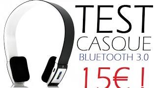 Test du Casque bluetooth 3.0 lowcost à 15€ ! [ACHETONS-EN-LIGNE.COM]