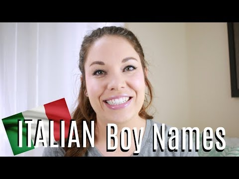 Italian Baby Names For Boys | All About Baby Names | Days Of May