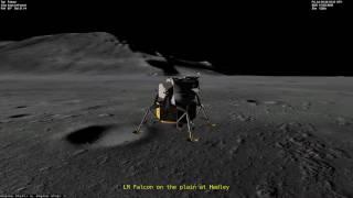 Project Apollo NASSP 8.0 Alpha - Apollo 15 Landing at Hadley-Apennine