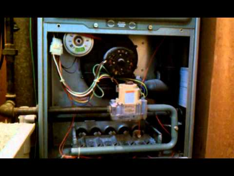 Furnace won't stay lite. How do I fix this problem? - YouTube