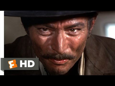 The Good, the Bad and the Ugly (1/12) Movie CLIP - Angel Eyes Finishes the Job (1966) HD