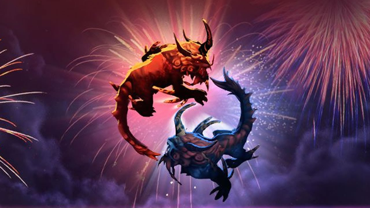this is why we love to play dota 2 on chinese new year youtube