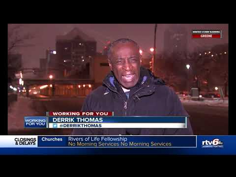 Indianapolis battles to keep snow off the roads after first snowfall of 2019