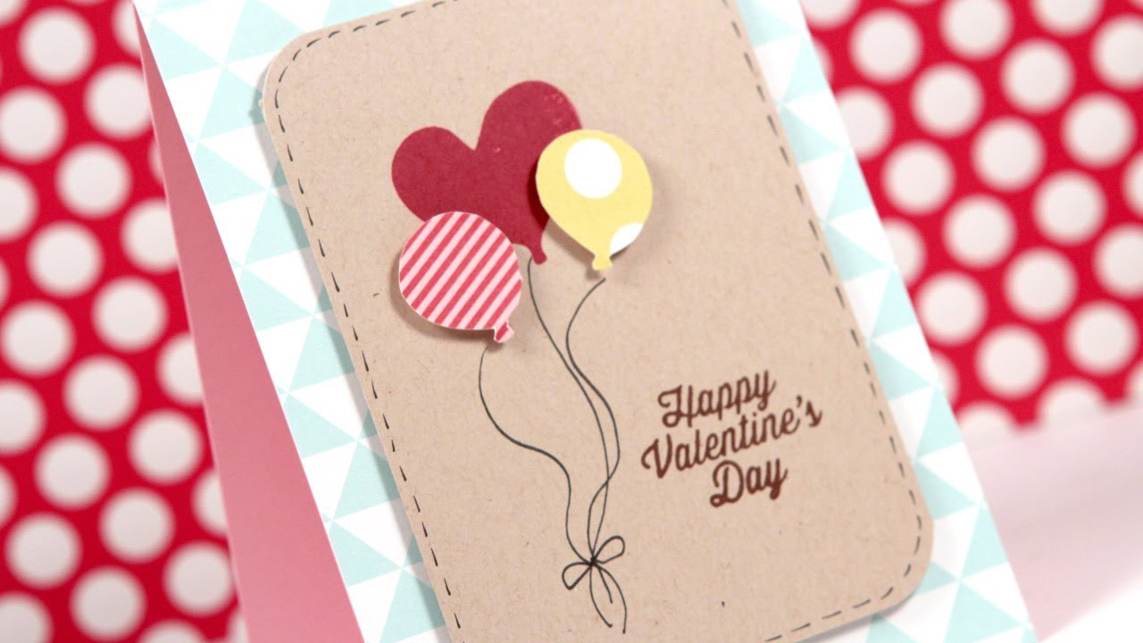 January 2014 Card Kit Happy Valentine S Day Youtube