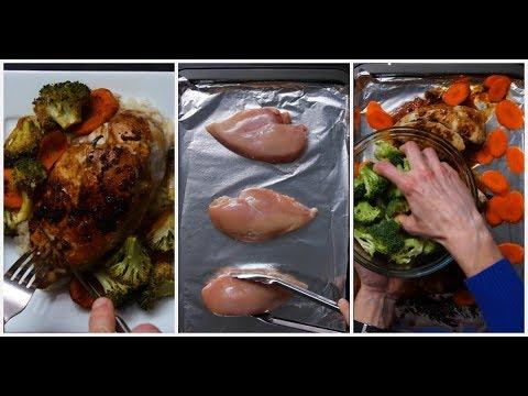 Sheet Pan Teriyaki Chicken and Vegetables Easy Dinner