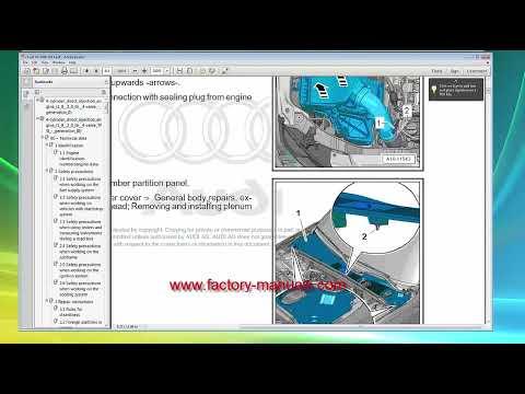 audi a4 b8 2008 2009 2010 2011 2012 2013 2014 2015 2016 repair
