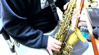 The Girl from Ipanema on Alto Sax