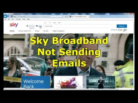 How to set up sky email on smartphone