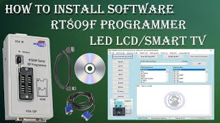 How To Install Software In LCD LED TV By RT809F Programmer in Hindi