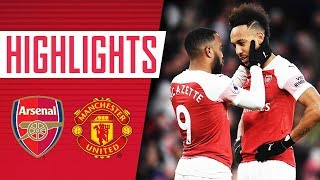 UNAI'S AT THE WHEEL | Arsenal 2 - 0 Manchester United | Goals & highlights | All the angles