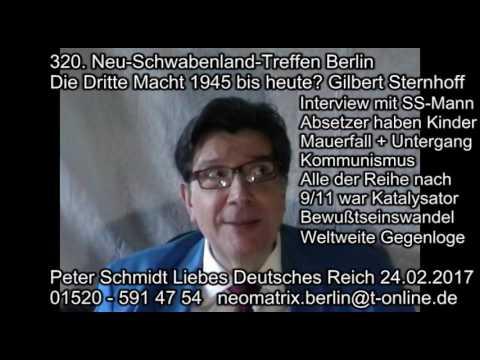 Dritte Macht Sternhoff SS-Mann-Interview Weltweite Gegenloge 320. Neu-Schwabenland-Treffen