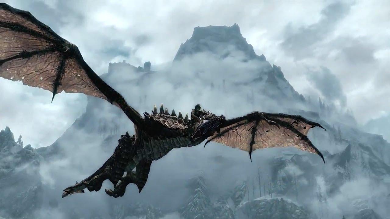Skyrim Dragon: DOMPTER UN DRAGON!!!!!!!!!!!!!!!!!!!! (Skyrim)