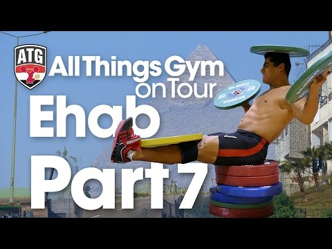 ATG on Tour Part 7 of 7 Mohamed Ehab Power Snatches, Jerk Drives, Clean Pulls, Thursday Afternoon
