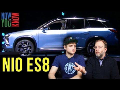 NIO ES8 Electric SUV - In Depth