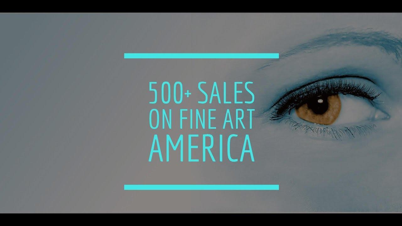 I sold over 500 artworks on Fine Art America! (update: 2,725)