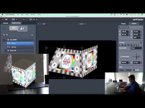 GrandVJ XT Video Mapper tutorial