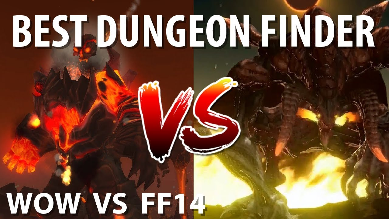 Which MMO has the better Dungeon Finder? [WOW Vs FFXIV]