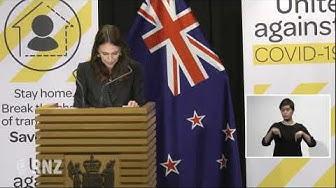 Prime Minister Jacinda Ardern's Covid-19 news conference - 1 April, 2020