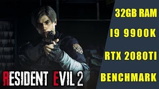 Resident Evil 2 (RTX 2080TI/Intel Core i9 9900K/32GB RAM) TEST