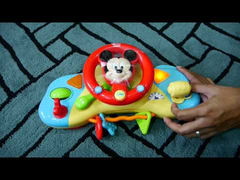 Toy135 - พวงมาลัยติดรถเข็นเด็กลายมิกกี้เมาส์ Winfun
