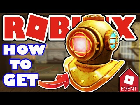 [EVENT] How to get the Diver's Helmet in Tradelands - Roblox Atlantis Event 2018
