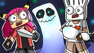 ч.03 Иследовали дом с приведениями, НОВАЯ ШАПКА!! - Minecraft Страшные приключения