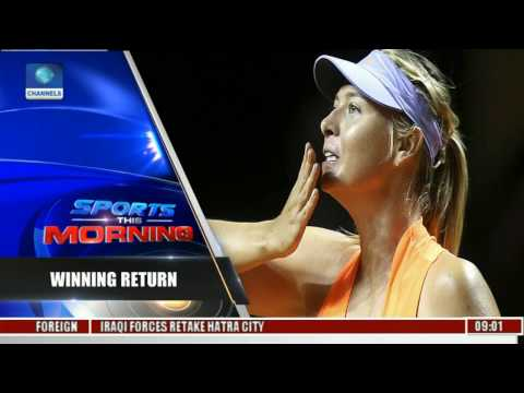 Stuttgart Grand Prix: Sharapova Defeats Vinci 7 - 5 6 - 3
