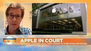 Apple bites back: Tech behemoth takes on the Europe Union over tax bill Video
