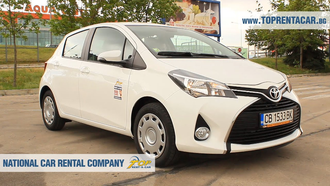 Rent A Toyota Yaris For Hire From Top Rent A Car Bulgaria From 13
