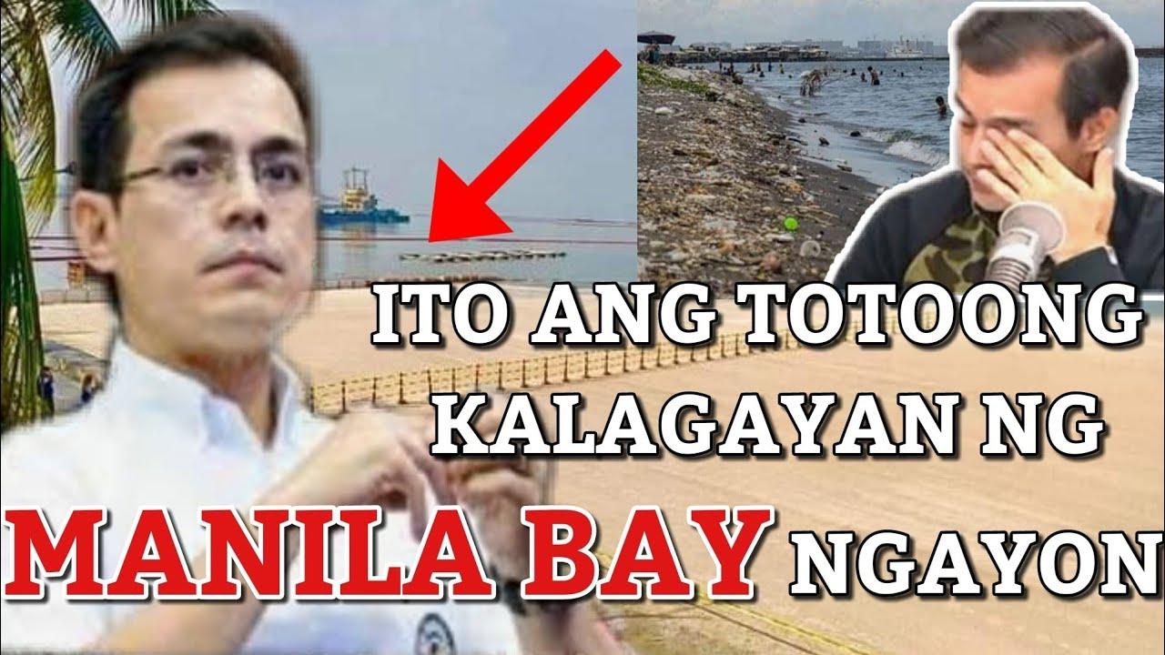 Download MANILA BAY UPDATE   TOTOONG KALAGAYAN NG MANILA BAY NGAYON