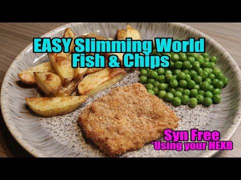 EASY Slimming World Fish And Chips Fakeaway - SYN FREE (HEXb)