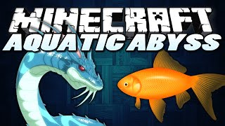 "Minecraft Mods | AQUATIC ABYSS | ""Sea Monsters!"" Minecraft (Minecraft Mod Showcase)"