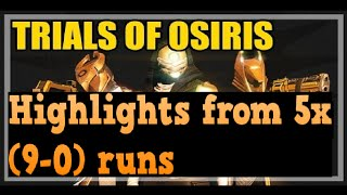 Trials Of Osiris Highlights #1 : Perfect Run Clips
