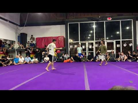 1v1  Mike Hom vs Eurico Senna exhibition