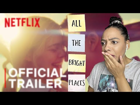 Reacting to the All The Bright Places Official Trailer!